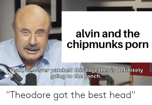 Alvin and the chipmunks porn pictures