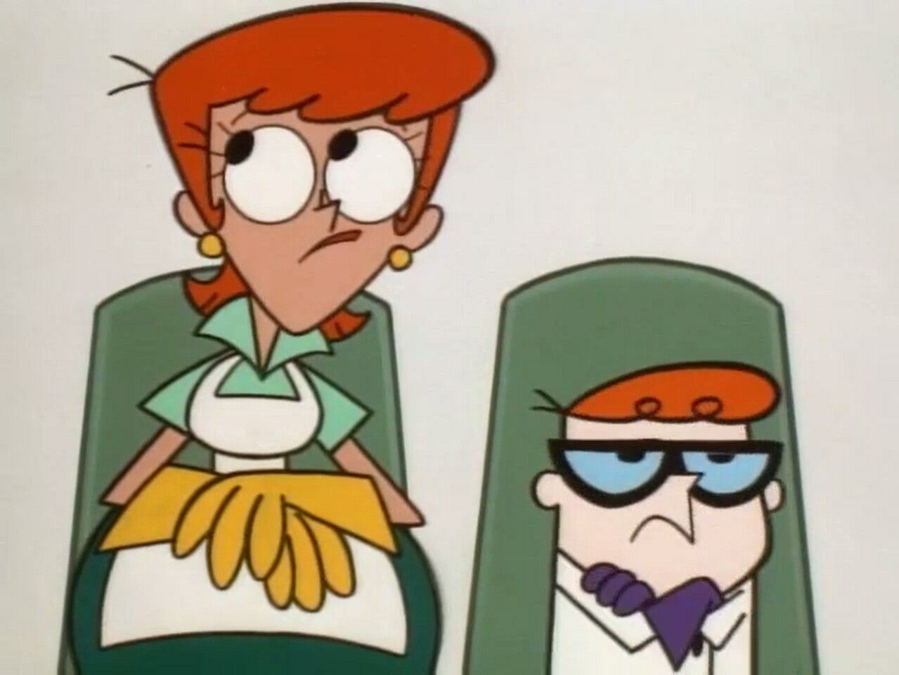 Dexter laboratory and his mom booty