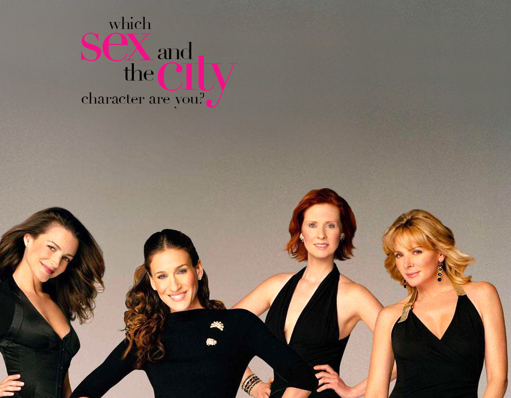 Characters on sex and the city