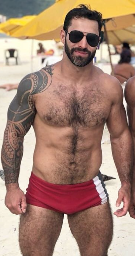 Hairy and horny men mature