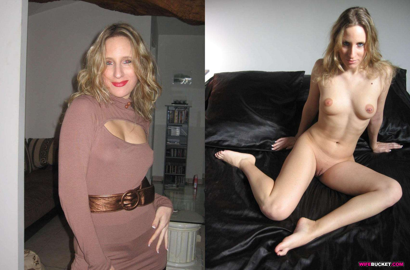 Before and after nude amature
