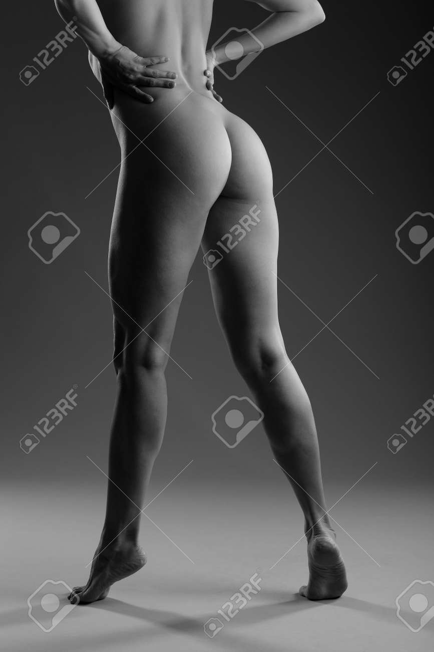 Black and white photos of nude ass