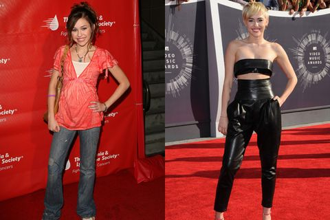 Hannah montana cast then and now