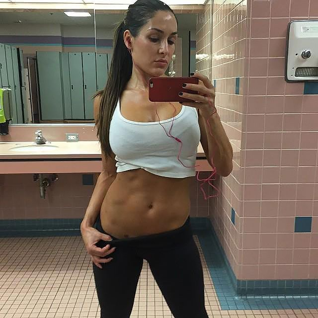 Naked pictures of brie bella